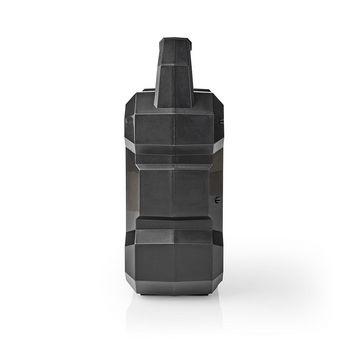 Bluetooth® Speaker | Batteri spilletid: Opp til 13 timer | Bord design | 5 W | Mono | Innebygd mikrofon | Sort
