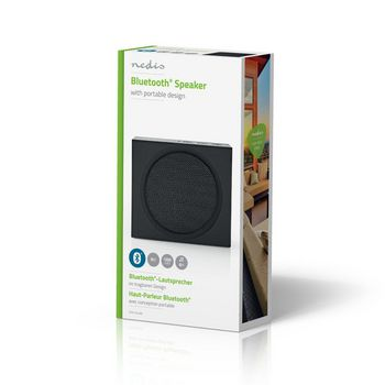 Bluetooth® Speaker | 9 W | Up to 6 Hours Playtime | Black