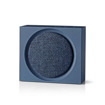 Bluetooth® Speaker | 9 W | Up to 6 Hours Playtime | Blue