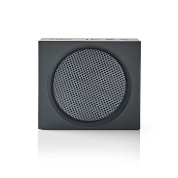 Bluetooth® Speaker | 9 W | Up to 6 Hours Playtime | Grey