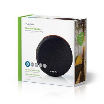 Bluetooth®-Høyttaler | 24 W | Vanntett | Bærehåndtak | Sort/brun