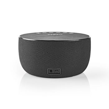 Bluetooth® Speaker with Wireless Charging | 30 W | Up to 6 Hours Playtime | Clock | Black