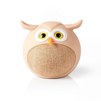 Animaticks Bluetooth Speaker | 3 Uur Speeltijd | Handsfree bellen | Olly Owl