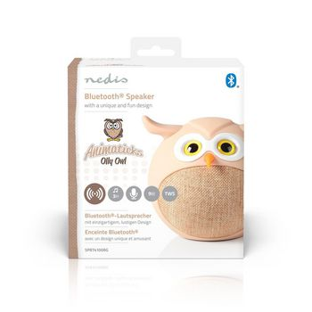 Animaticks Bluetooth Speaker | 3 hours playtime | Hands-free calling | Olly Owl