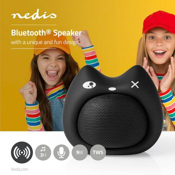 Animaticks Bluetooth Speaker | 3 Uur Speeltijd | Handsfree bellen | Kelly Kitten