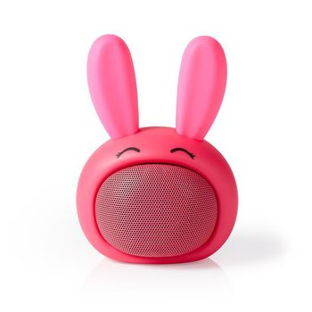 Animaticks Bluetooth Speaker | 3 hours playtime | Hands-free calling | Robby Rabbit