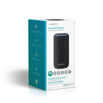 Smart Wifi Speaker | 15 W | Amazon Alexa Far Field Voice Control | Black