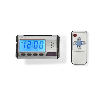 Spy Camera Clock | 720 x 480 Video | Remote Control | Rechargeable
