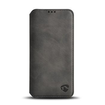 Puha Zselés TárcakönyvTok Samsung Galaxy A9 2018-hoz   Fekete