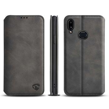 Funda Suave Abatible con Tarjetero para Samsung Galaxy A10S   Negra