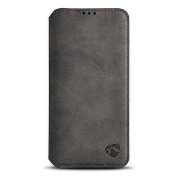 Puha Tárcakönyvtok Samsung Galaxy A30S-hez/Galaxy A50S-hez | Fekete