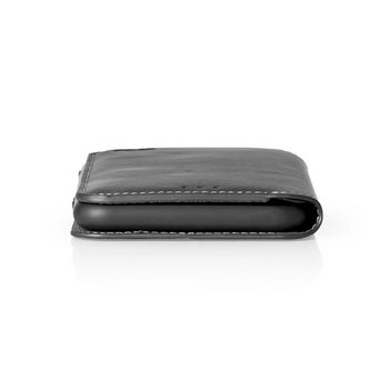 Puha Zselés Tárcakönyvtok for Huawei P20 Lite / Nova 3e | Fekete