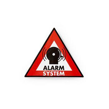 Warning Sticker | Alarm System symbol | Set of 5 pieces