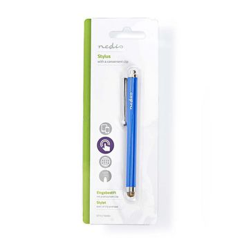 Stylus | with Copper Cloth Tip | Blue