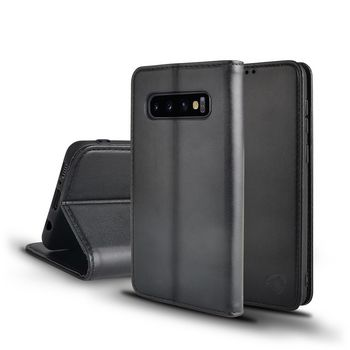 Wallet Book for Samsung Galaxy S10   Black