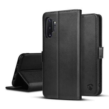 Lompakkokotelo, Samsung Galaxy Note 10 Plus   Musta