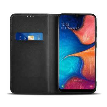 Lommebok for Samsung Galaxy A20e   Svart