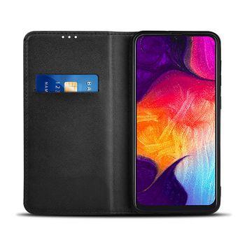 Bookcase mit Portemonnaie für Samsung Galaxy A30S/Galaxy A50S | Schwarz
