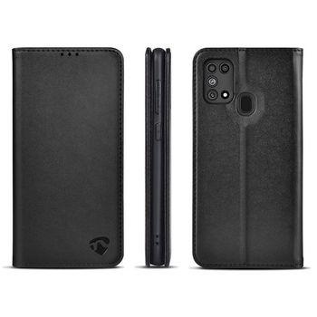 Wallet Book for Samsung Galaxy M31   Black