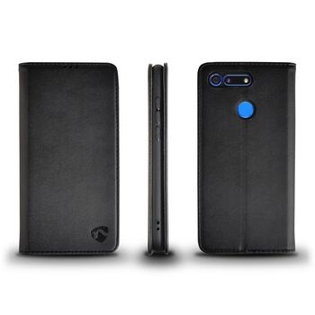 Wallet Book voor Huawei V20 | Zwart