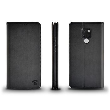 Wallet Book for Huawei Mate 20X | Black