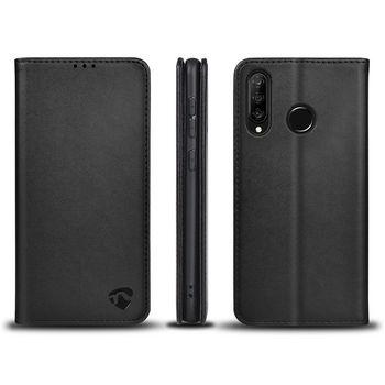 Lompakkokotelo, Huawei P30 Lite / Nova 4e | Musta