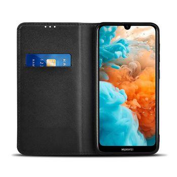 Peněženkové Pouzdro pro Huawei Y6 2019 / Y6 Pro 2019 | Černé