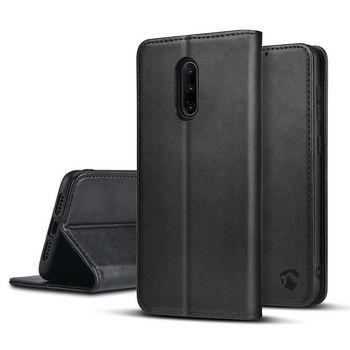 Wallet Book voor OnePlus 7   Zwart