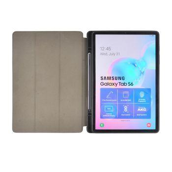 "Custodia a Libro per Samsung Galaxy Tab S6 10,5"" 2019   Grigio/Nero"