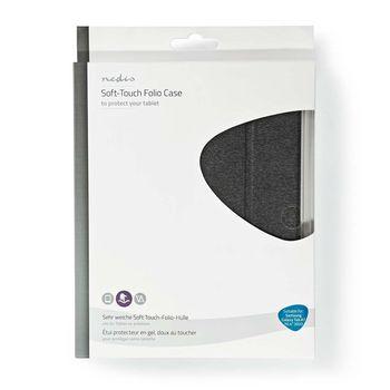 "Tablet Folio Case | Gebruikt voor: Samsung | Galaxy Tab A7 10.4"" 2020 | Auto-wake-functie | Grijs/Zwart"
