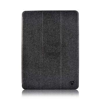 Tablet Folio Case Samsung | Geeignet für: Samsung | Galaxy Tab S7+ | Automatische Weckfunktion | Grau/Schwarz
