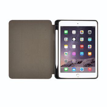 Folio-Case voor Apple iPad Mini 1 / iPad Mini 2 / iPad Mini 3 | Grijs / Zwart