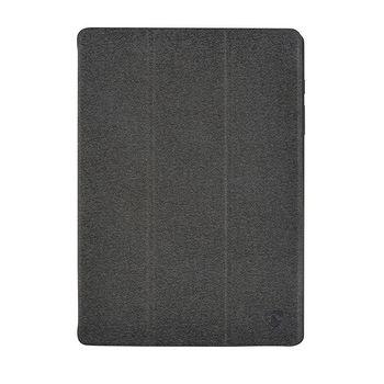 "Tablet Folio Case | Used for: Apple | iPad Pro 9.7"" / iPad 9.7"" 2018 / iPad 9.7"" 2017 / iPad Air 2 / iPad Air | Built-in pencil holder | Auto-wake function | Grey/Black | TPU / PC"