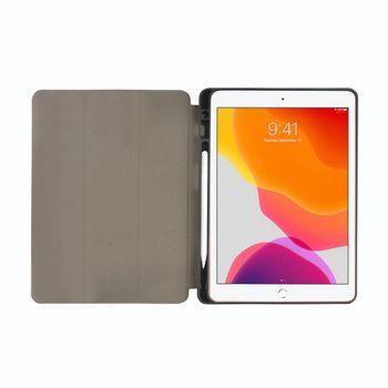 """Folio-Case voor Apple iPad 10.2"""" 2019 / Apple iPad 10.2"""" 2020   Grijs / Zwart"""