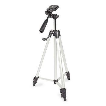 Statief | Pan & Tilt | Max. 3 kg | 127 cm | Zwart / Zilver