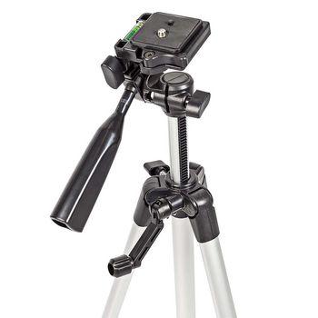 Tripod | Pan & Tilt | Max 3 kg | 127 cm | Black / Silver