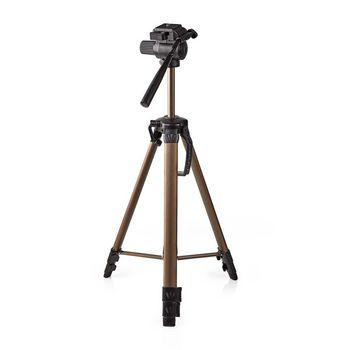 Statief | Pan & Tilt | Max. 3,5 kg | 161 cm | Zwart / zilver