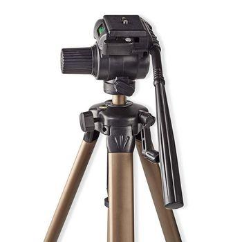 Tripod | Pan & Tilt | Max 3.5 kg | 161 cm | Black / Silver