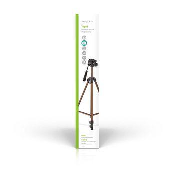 Statief | Pan & Tilt | Max. 2 kg | 127 cm | Brons