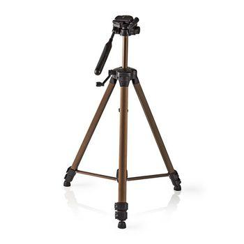 Statief | Pan & Tilt | Max. 4 kg | 163 cm | Brons