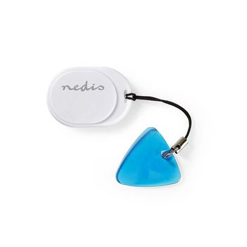 Tracker / Locator / Finder | Bluetooth | Works up to 50M | Small Design | White