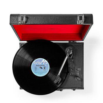 Turntable | 18 W | Bluetooth® | Suitcase | Black