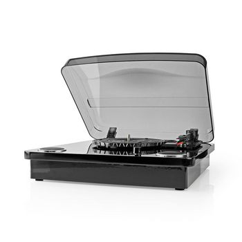 Turntable | 18 W | Bluetooth ® | USB Conversion | Dust Cover | Black