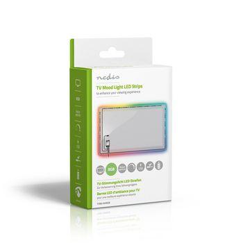 TV Mood Light LED Strips | RGB | Reduce Eye Strain | Dimmable | USB