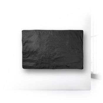 "Outdoor TV Screen Cover | 46"" - 48"" | Supreme Quality Oxford Cloth | Remote Control Holder | Black"