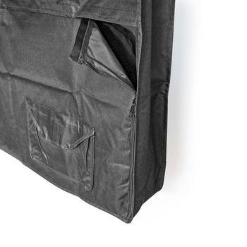 "Outdoor TV Screen Cover | 55"" - 58"" | Supreme Quality Oxford Cloth | Remote Control Holder | Black"