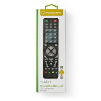 Universal Remote Control | Preprogrammed | Control 10 Devices