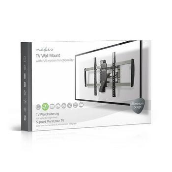 "Full Motion TV Wall Mount | 42-70"" | Max 35 kg | 3 Pivot Points"