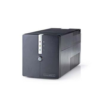 Uninterruptible Power Supply | 1000 VA | 600 W | 4 Sockets