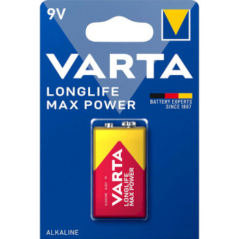 Longlife Max Power 9V Blister 1 |